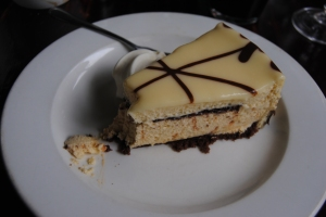 White Chocolate Mousse cake - yummy - Beaver Creek Coffee Farm - Port Edward, Kwa-Zulu-Natal, SA